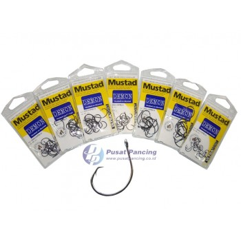 Kail Mustad Demon Light Gauge Circle Hook