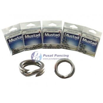Mustad Stainless Split Rings MA033