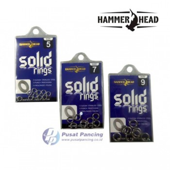 Hammer Head Solid Ring - Stainless Steel