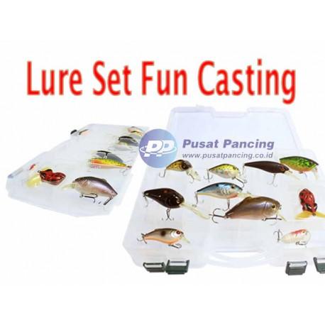 Promo Paket Lure Set Fun Casting