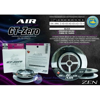 Zen PE AIR GT-Zero X8 Braid