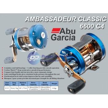 Reel Abu Garcia® Ambassadeur® C4 Round Reel