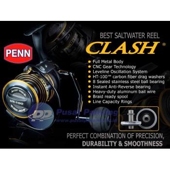 Reel Spinning Saltwater Penn Clash