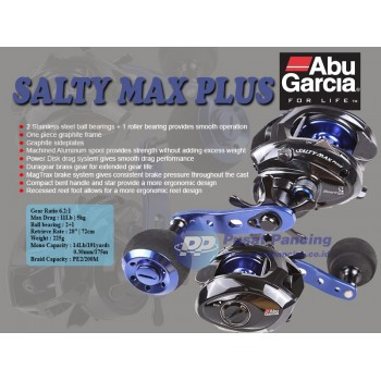 Reel Bc Abu Garcia Salty Max Plus-L