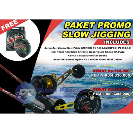 Promo Paket Slow Pitch Jigging