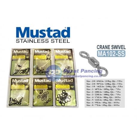 Mustad Crane Swivel Stainless Steel MA102