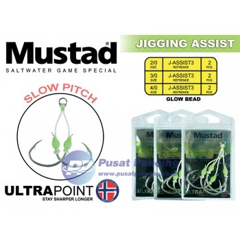 Mustad Jigging Assist Slow Pitch