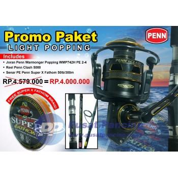 Promo Paket Penn Light Popping