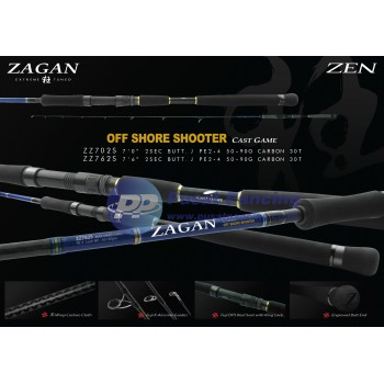 Joran Spinning Jigging Zen Zagan Off Shore Shooter