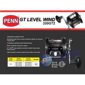 Reel Trolling Konvensional Penn GT Level Wind 330GT2