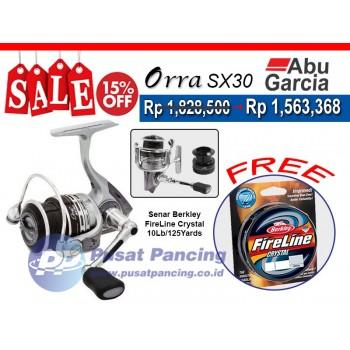 Paket Reel Abu Garcia Orra SX30