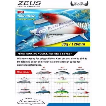 Umpan Sinking RodFord Zeus