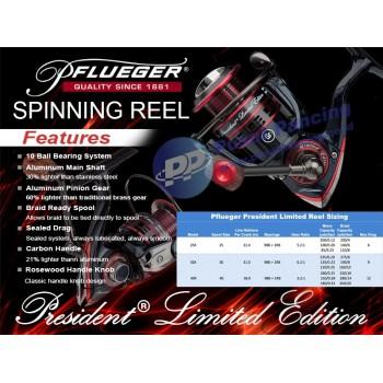 Reel Pflueger® President® Limited Edition