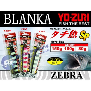 Umpan Yozuri Blanka Zebra