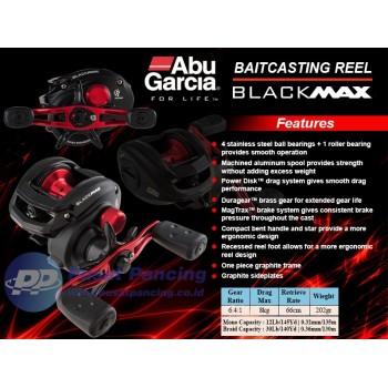 Reel Mancing Casting Laut Abu Garcia Blackmax 3