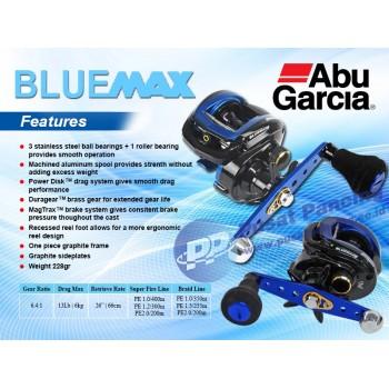 Reel Casting Ultra Ligh Jigging Abu Garcia Bluemax 3 - Left Handle