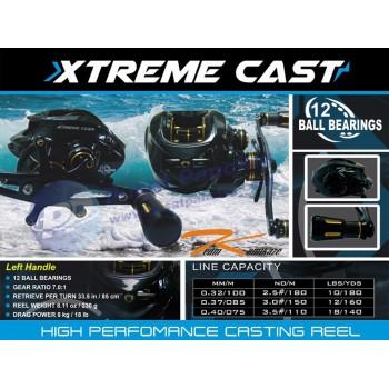 Reel Mancing Casting Murah Meriah Team Kamikaze Xtreme Cast