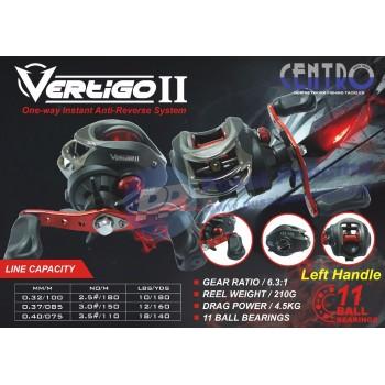 Reel Mancing Casting Centro Vertigo II