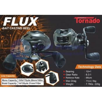 Reel Casting Murah Tornado Flux