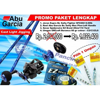 Paket Cast Light Jigging