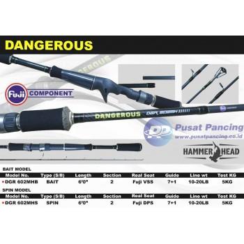 Joran Hammer Head BC dan Spinning Dangerous