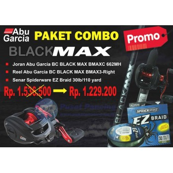 Paket Combo Black Max-Left Handle
