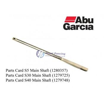 Parts Card Main Shaft