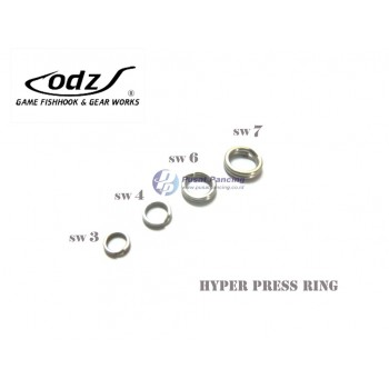 Split Ring ODZ Hyper Press Ring