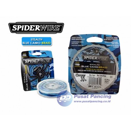 Senar SpiderWire Stealth Blue Camo Braid