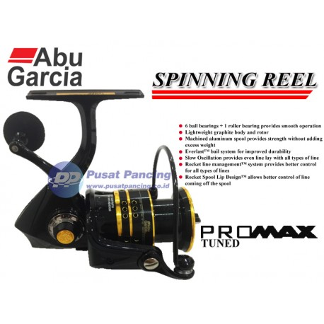 Reel Spinning Abu Garcia Pro Max Tuned