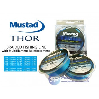 Senar Mustad Thor Braided Fishing Line