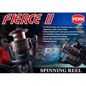 Reel Penn Fierce II Spiderwire