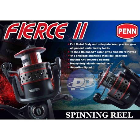 Reel Fierce II Spiderwire