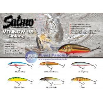 Umpan Sinking Salmo Minnow 9S