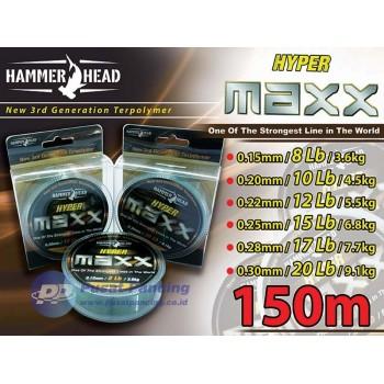 Senar Nylon HammerHead Hyper Maxx