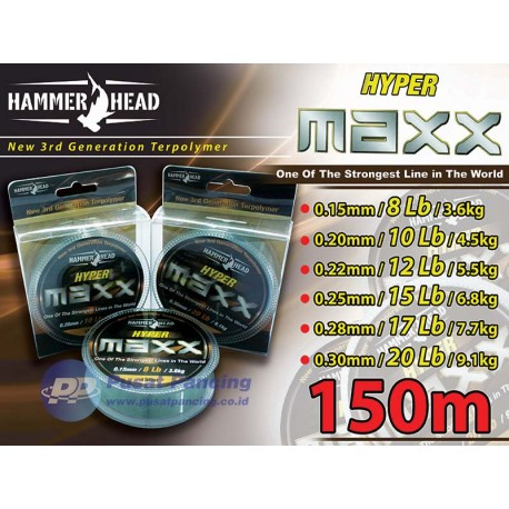 Senar HammerHead Hyper Maxx