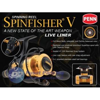 Reel Spinning Penn Spinfisher V Live Liner