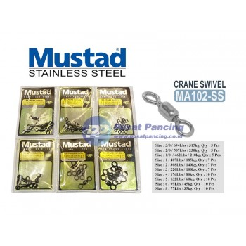 Mustad Crane Swivel Stainless Steel MA102