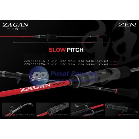 Joran OH Baitcasting Zen Zagan Slow Pitch (Acid Spiral Guide)