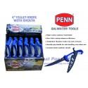 Pisau Penn 4in Fillet Knife w Sheath PDQ36 1309764