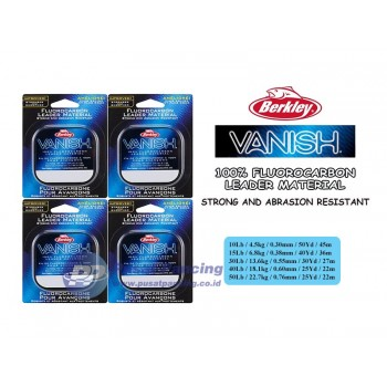Senar Leader Berkley Vanish Fluorocarbon