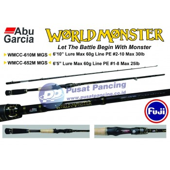 Joran Baitcasting Abu Garcia World Monster