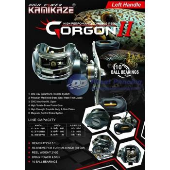 Reel Casting Kamikaze Gorgon II