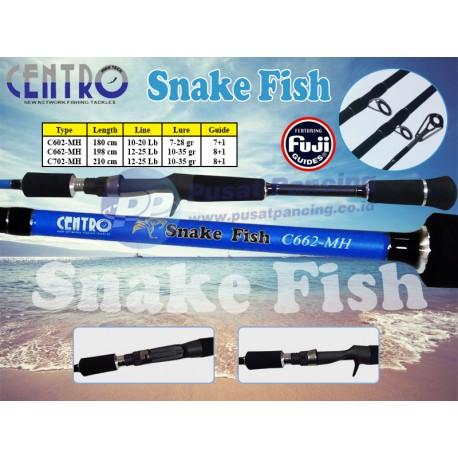Joran Casting Centro Snake Fish