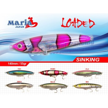 Umpan Pencil Popper Stickbait Maria Loaded