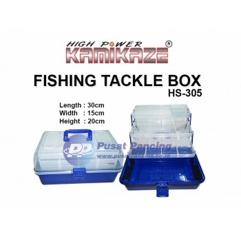 Kotak Pancing Fishing Tackle Box Kamikaze HS-305