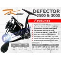 Reel Mancing Light Medium Casting Popping Jigging Team Kamikaze Defector