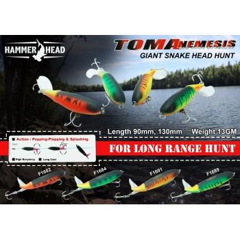 Umpan Popper Hammerhead Tomanemesis