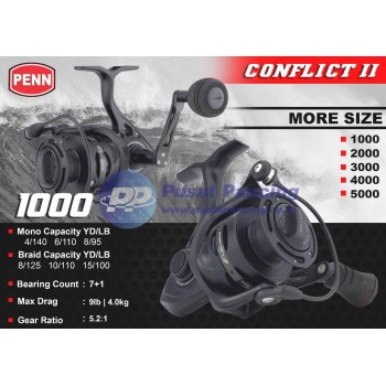 Reel Penn Conflict II