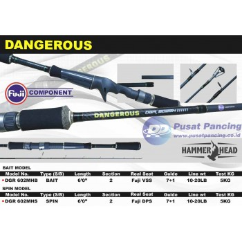 Joran Hammer Head Dangerous 602MHS